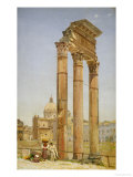 The Forum  Rome  1875