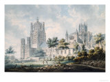 Ely Cathedral from the South-East  1763-1804