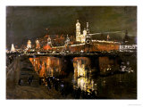 The Illumination of the Kremlin  1896