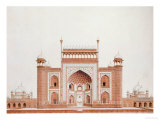 The Gateway of the Taj  Agra School  circa 1815