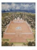 The Great Mosque  Delhi  Company School  Mid 19th Century