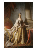 Portrait of Queen Charlotte  Full Length in Robes of State