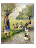 The Goose Girl (The Duck Pond)  circa 1890