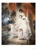 Portrait of Mrs Ayscoghe Boucherett with Her Two Eldest Children  1794