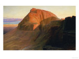 Masada or Sebbeh on the Dead Sea  1858