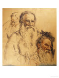 Three Studies of Leo Tolstoy (1828-1910)