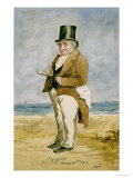 Full Length Portrait of Joseph Mallord William Turner  R A (1755-1851)