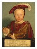 Portrait of Edward Prince of Wales  Later Edward VI  as a Child