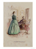 Mrs Gresham and Miss Dunstable: an Illustration to Framley Parsonage  1861