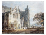 The North Porch of Salisbury Cathedral  circa 1796