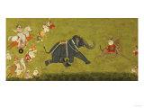 Maharaja Jagat Singh Pursuing an Escaped Elephant
