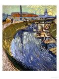 La Roubine Du Roi, 1888  Giclée par Vincent Van Gogh