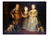 Group Portrait of the Children of King Charles I  Full Length