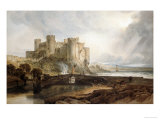 Conway Castle  circa 1802