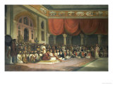 Sir Charles Warre Malet  in 1790 Concluding a Treaty in Durbar with Souae Madarow