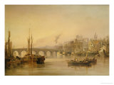 A View of Newcastle from the River Tyne