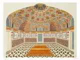Interior of the Tomb of et ahmadowlah  Agra School  circa 1815