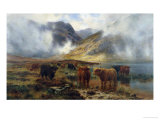 By Loch Treachlan  Glencoe  Morning Mists  1907