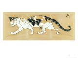 The Cat, le Chat Giclée par Théophile Alexandre Steinlen