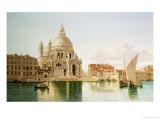 The Santa Maria Della Salute  Venice