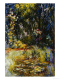 Corner of a Pond with Waterlilies  1918