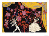The Flamenco Giclée par Georges Barbier