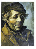 A Peasants Head (A Study for the Potato Eaters)  c1885