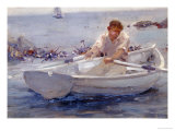 Man in a Rowing Boat  1907