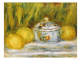 Sugar Bowl and Lemons, 1915 Giclée par Pierre-Auguste Renoir