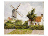 Windmill at Knock  Belgium  1894
