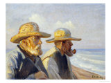Two Skagen Fishermen  1907