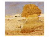 The Great Sphinx at Gizeh  1862