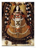 The Virgin of Pomata  School of la Paz  17th Century