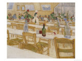 A Restaurant Interior  c1888