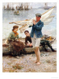 Return from Fishing  1907
