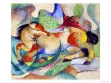 Jumping Horse  1913