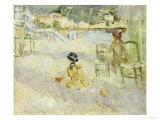 Plage de Nice  1882