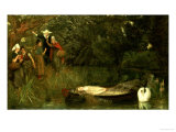 The Lady of Shalott  1873