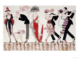 The Tango Giclée par Georges Barbier