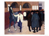 Horse Dealers at the Barbican  circa 1918