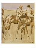 American Jockeys  or Racehorses