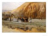 Temple d'Abou Simbel  la Fete Du Pharoan