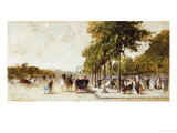 Les Champs Elysees  Paris  1894