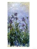 Iris Mauves, 1914-1917 Giclée par Claude Monet