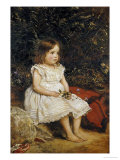 Portrait of Eveline Lees as a Child  1875