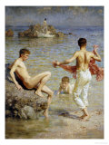 Gleaming Waters  1910