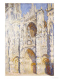 Rouen Cathedral in the Afternoon (The Gate in Full Sun)  1892-94