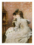 Admiring the Portrait  1879