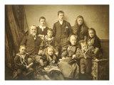A Family Group Portrait  circa 1895-97