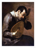 The Sense of Hearing  a Man Playing a Mandolin